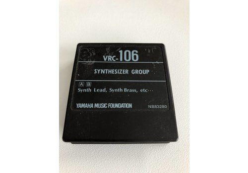 Yamaha DX7 Voice ROM VRC-106 - ROM Cartridge