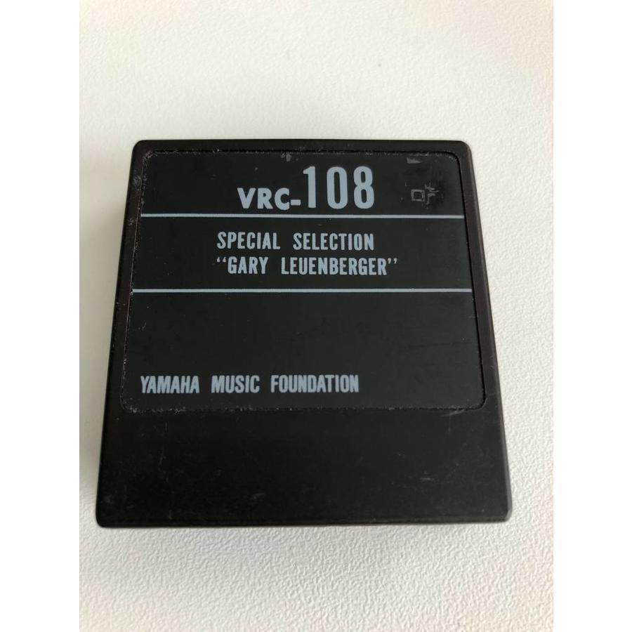 Yamaha DX7 Voice ROM VRC-108 - ROM Cartridge