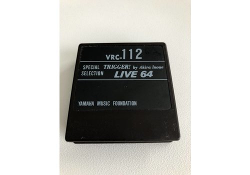 Yamaha DX7 Voice ROM VRC-112 - ROM Cartridge