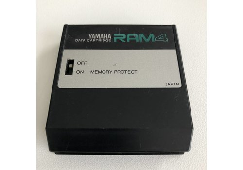 Yamaha DX7 RAM 4 - Data Cartridge