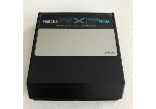 Yamaha RX5 ROM  - Waveform Data Cartridge