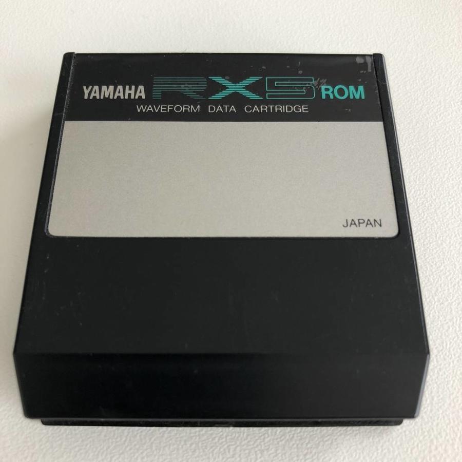 Yamaha RX5 ROM  - Waveform Data Cartridge
