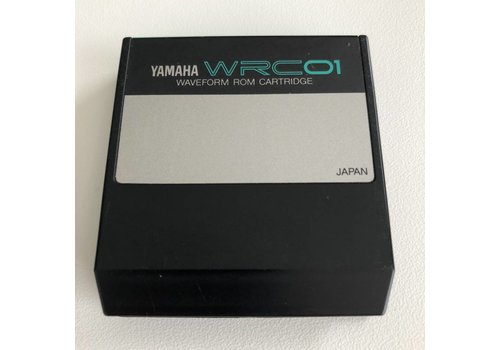 Yamaha WRC01 - Waveform ROM Cartridge