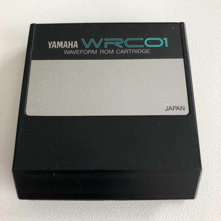Yamaha WRC01 - Waveform ROM Cartridge
