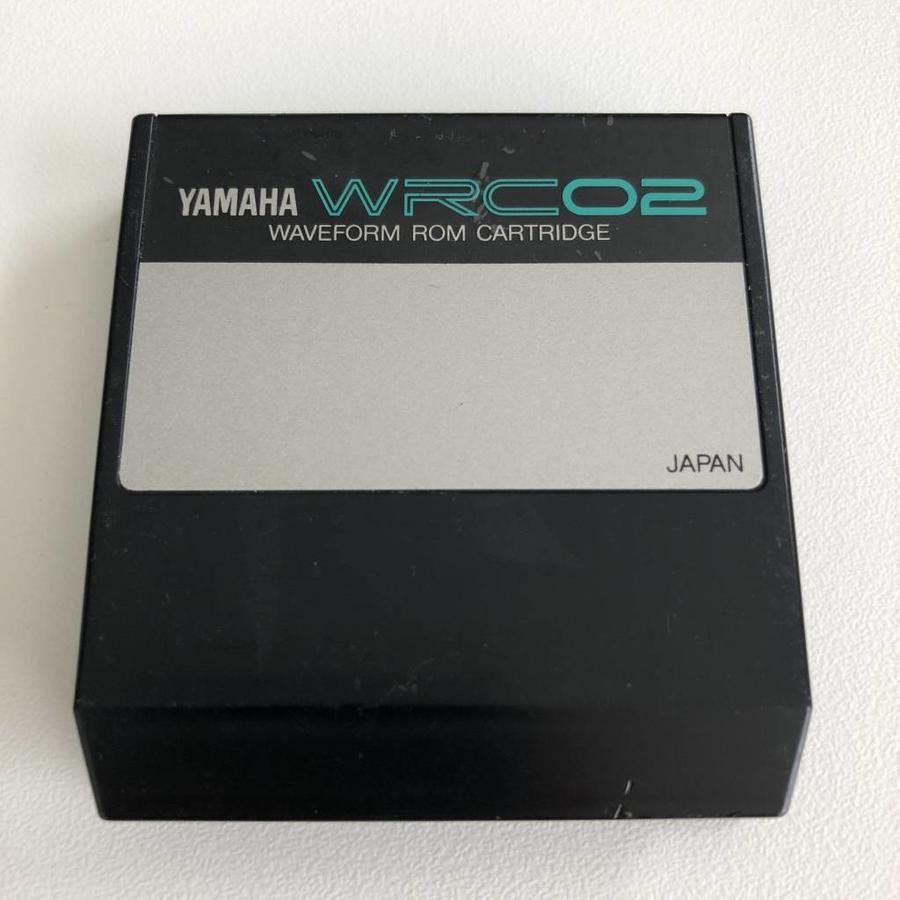 Yamaha WRC02 - Waveform ROM Cartridge