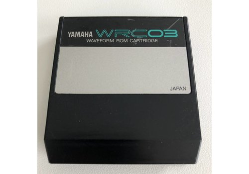 Yamaha WRC03 - Waveform ROM Cartridge