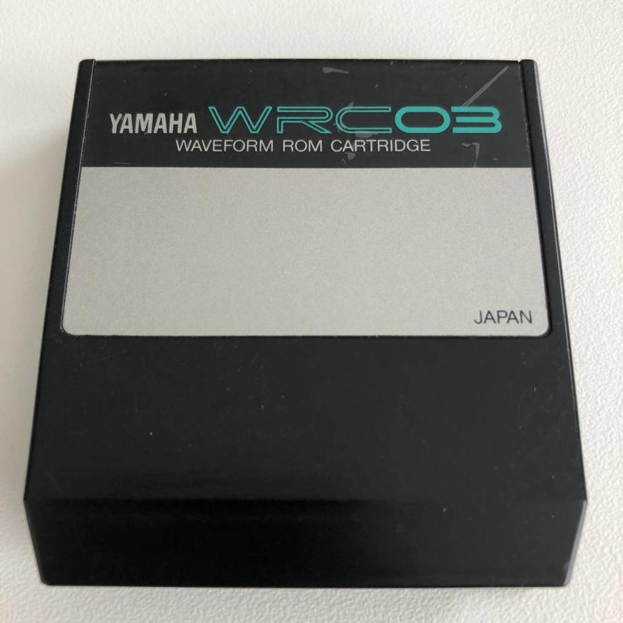 Yamaha WRC03 - Waveform ROM Cartridge