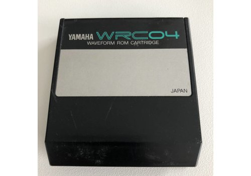 Yamaha WRC04 - Waveform ROM Cartridge