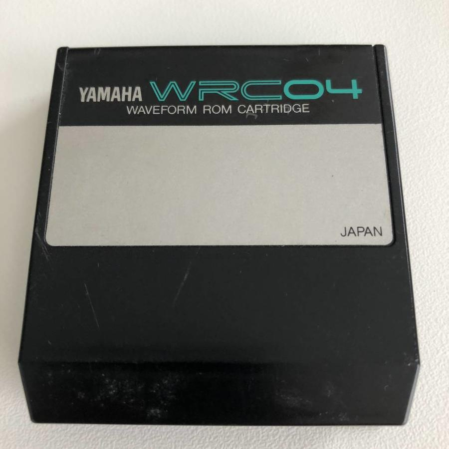 Yamaha WRC04 - Waveform ROM Cartridge