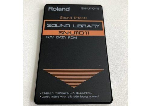 Roland SN-U110-11 Sound Library Card