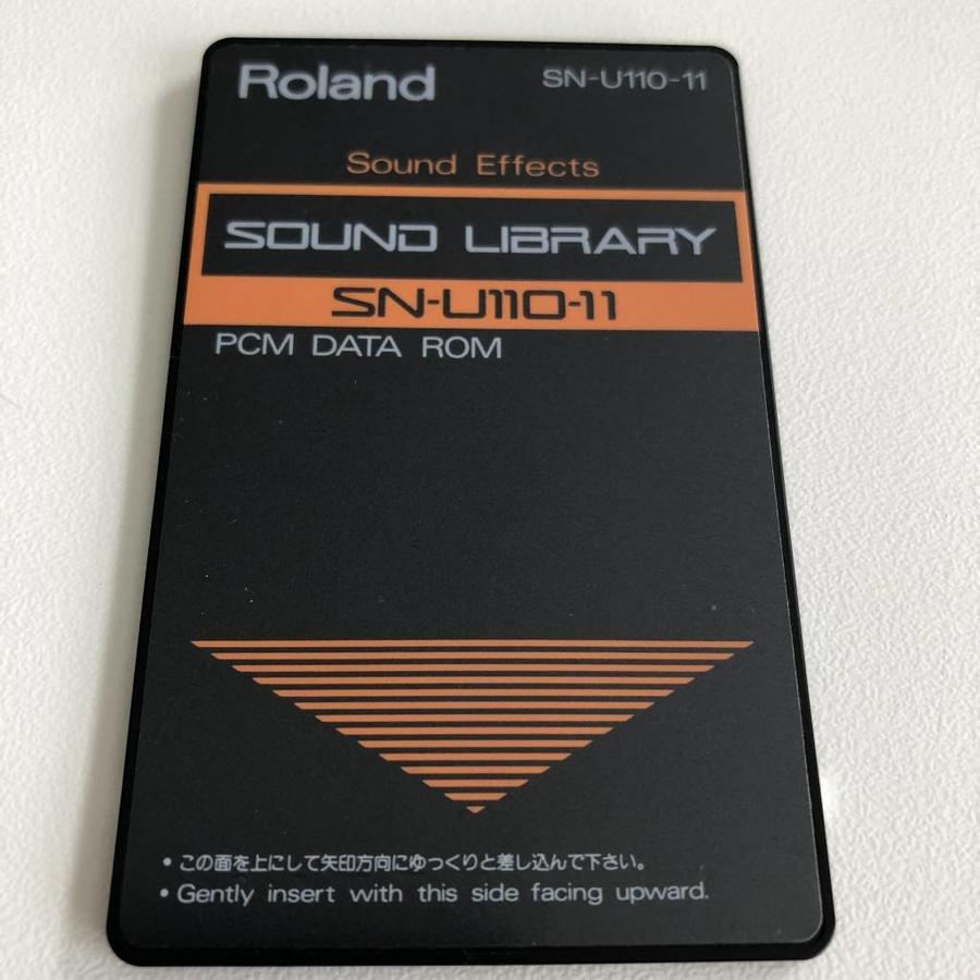 Roland SN-U110-11 Sound Library Card