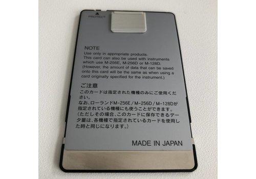 Roland M-512E Memory Card