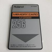 Roland M-256E Memory Card
