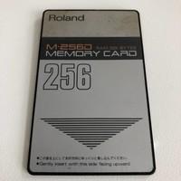 Roland M-256D Memory Card