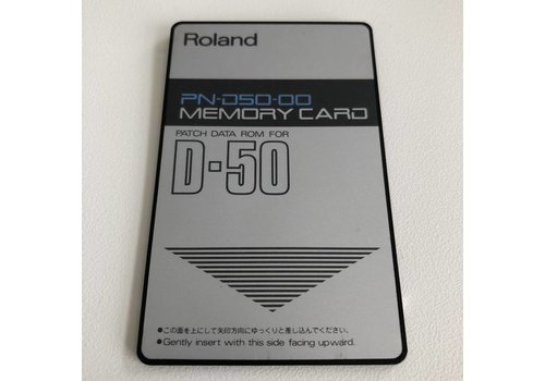 Roland PN-D50-00 Memory Card
