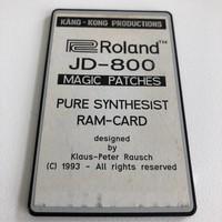 Roland JD-800 RAM-CARD