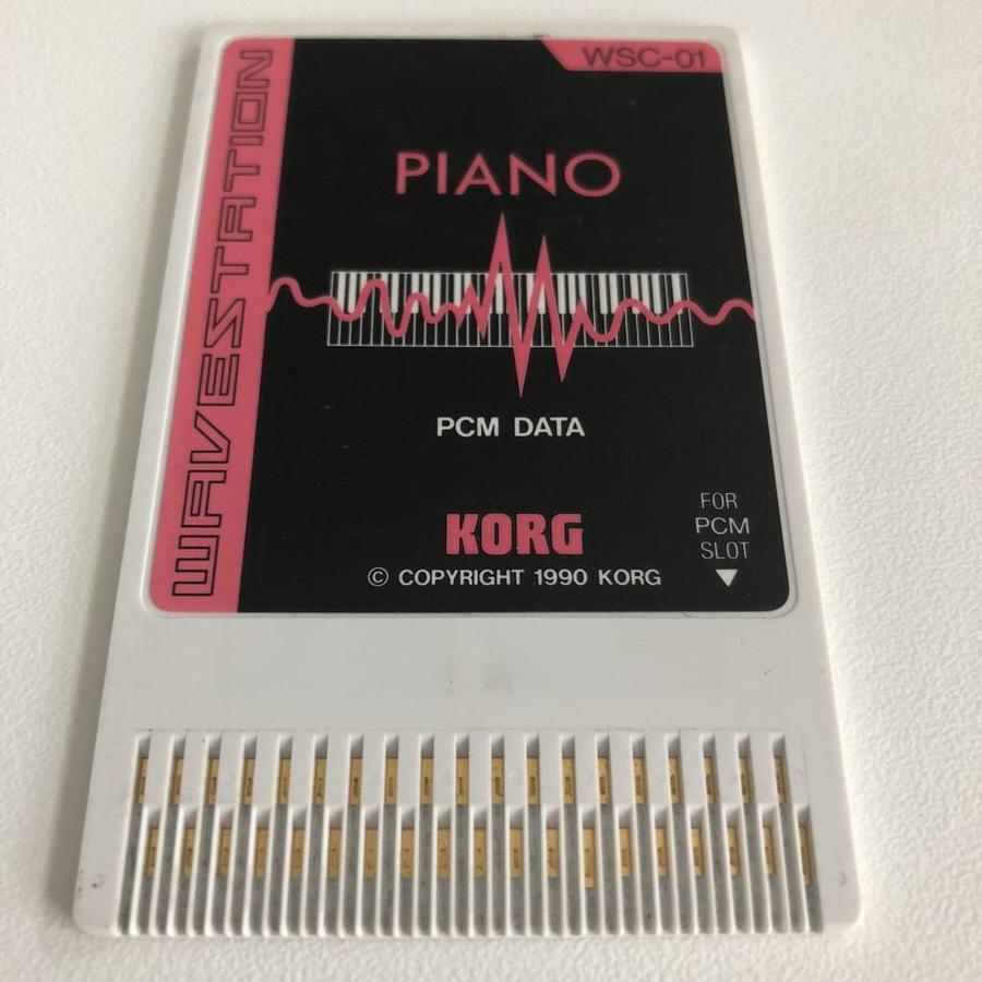 Korg WSC-01 Memory Card