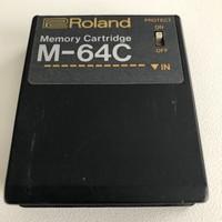 Roland M-64C Memory Cartridge