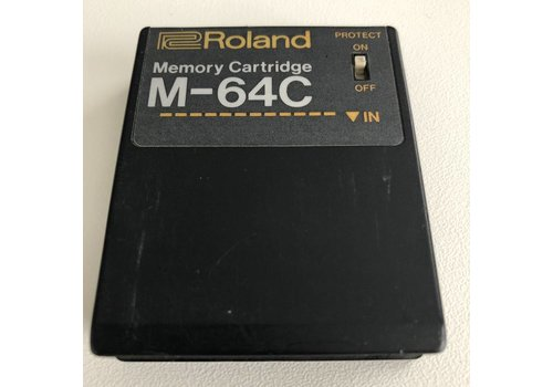 Roland M-64C Memory Cartridge