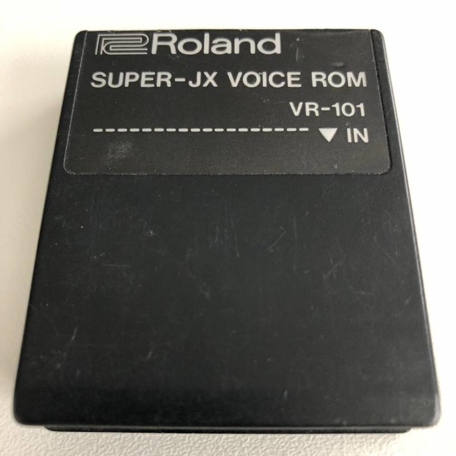 Roland VR-101 Super-JX Voice ROM Cartridge