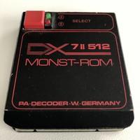 Yamaha DX7 II 512 MONST-ROM Synth Cartridge