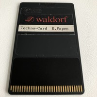 Waldorf Microwave 1 Techno-Card R. Papen