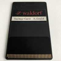 Waldorf Microwave 1 Techno-Card D. Gould