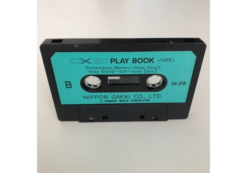 Yamaha DX21 Play Book Cassette Tape