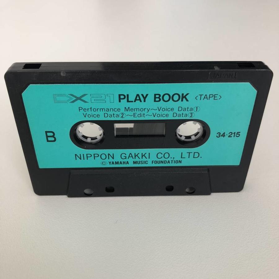 Yamaha DX21 Play Book Cassette Tape