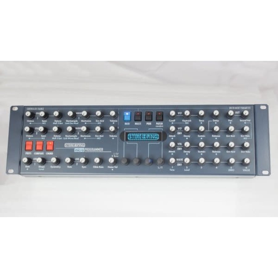 Stereoping Synth Programmer for Waldorf Microwave