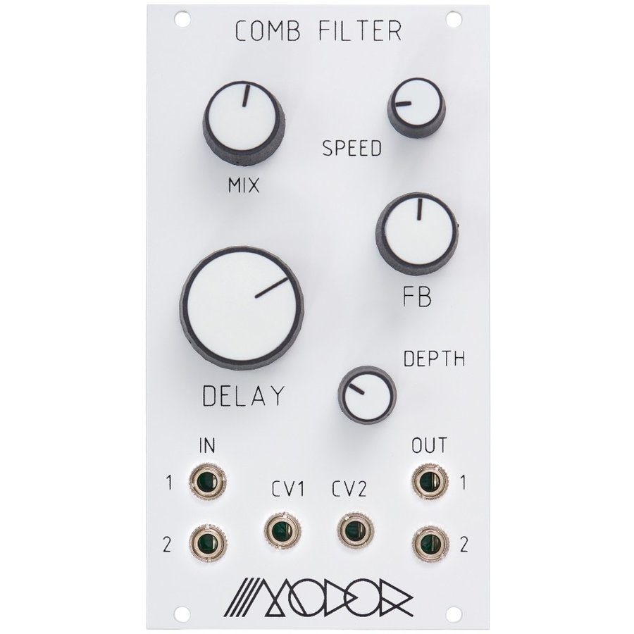 Modor Music Comb Filter for Eurorack