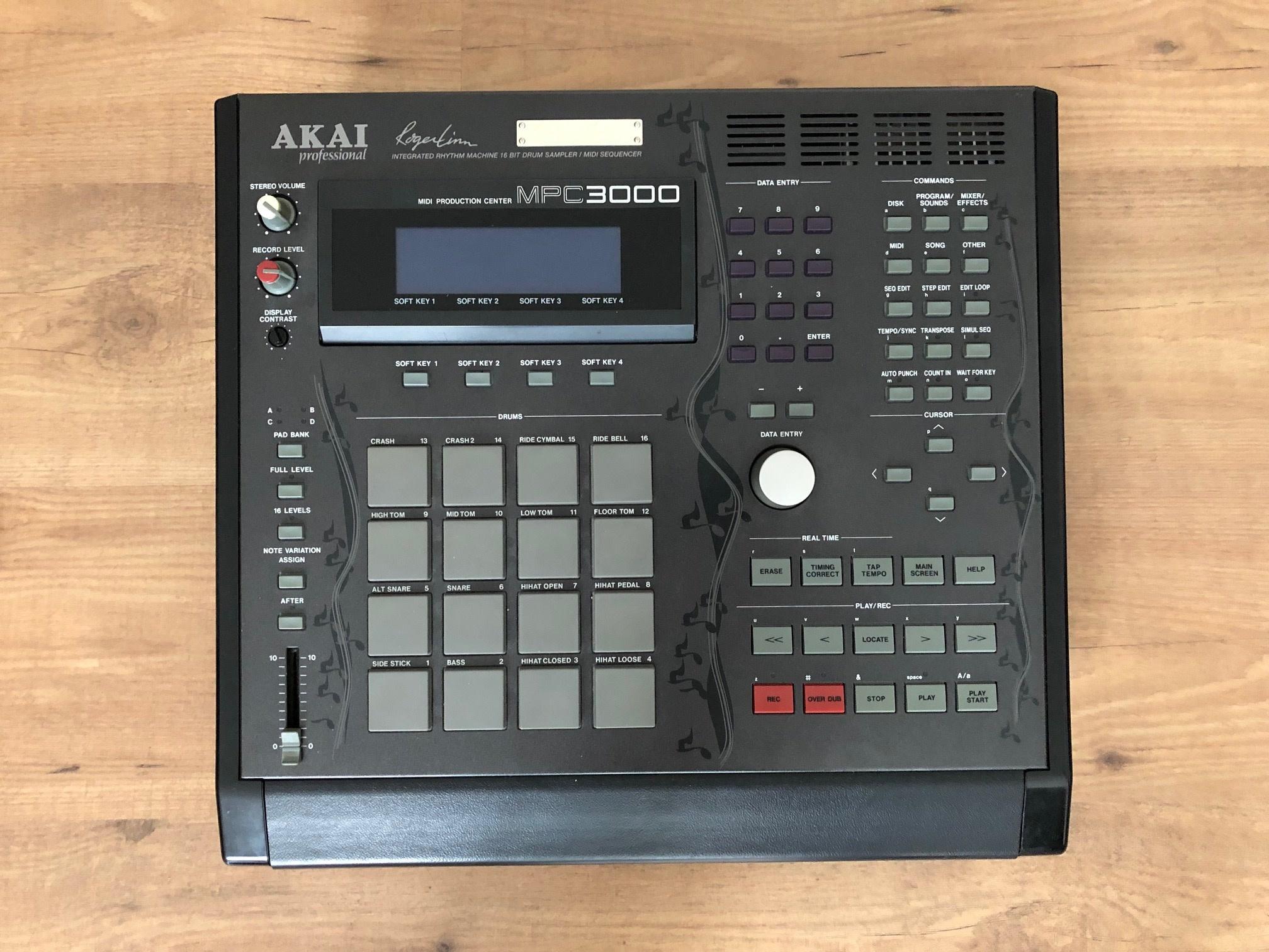 Akai MPC-3000 Limited Edition
