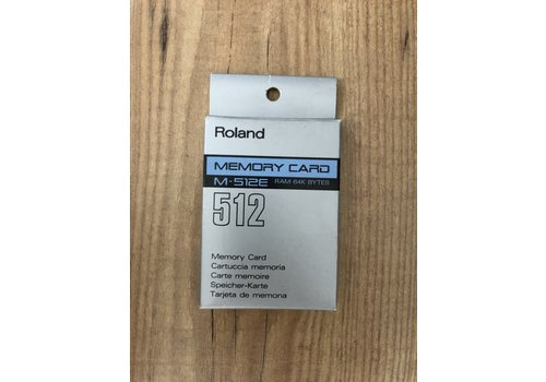 Roland M-512E Memory Card (New Old Stock)