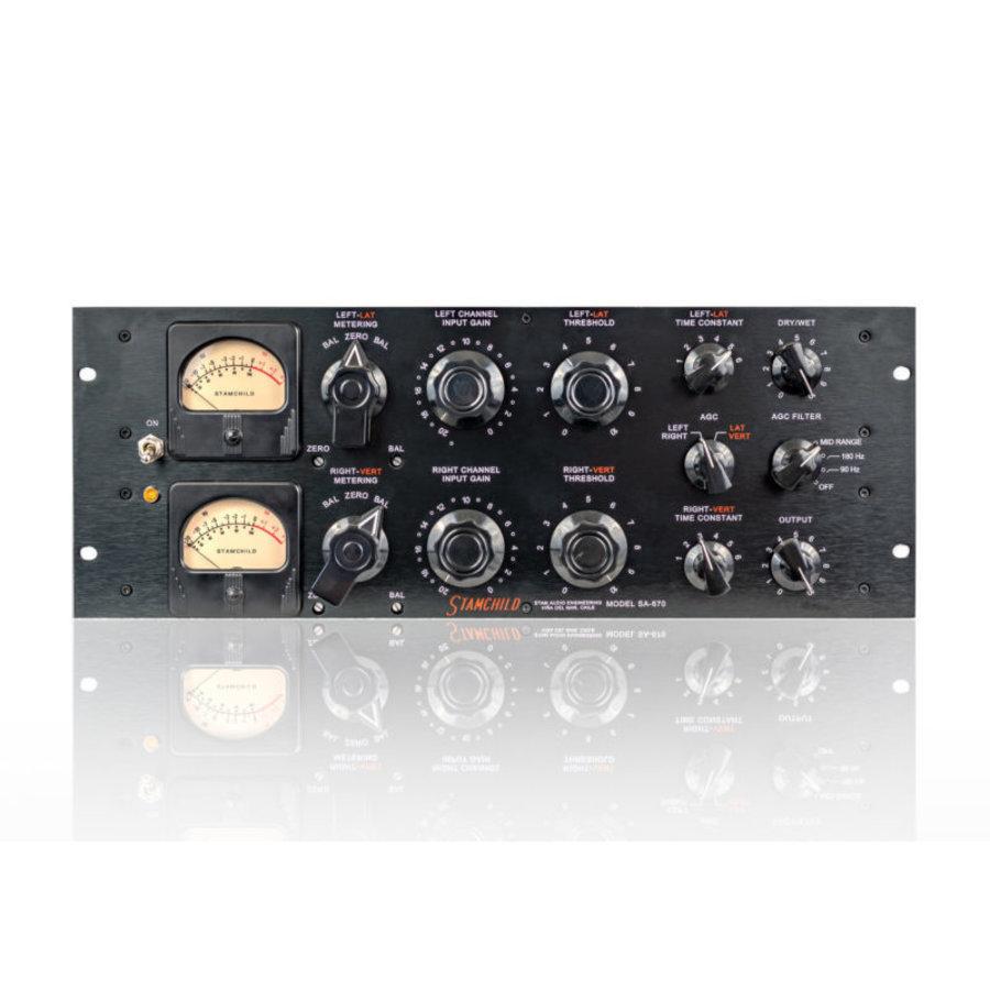 Stam Audio StamChild SA-670 – Analog Tube Compressor