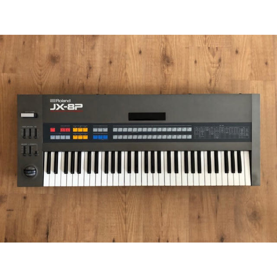 Roland JX-8P (incl. Roland M-16C)