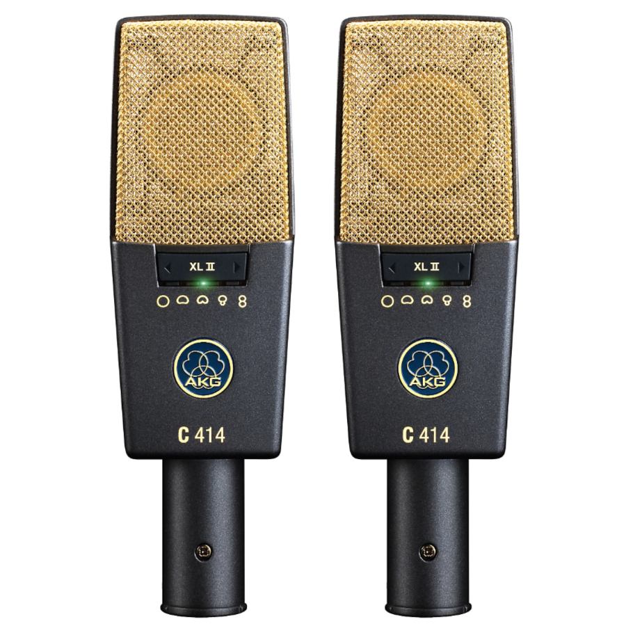 AKG C414 XLII Matched Stereo Pair (Bargain Discount Price)