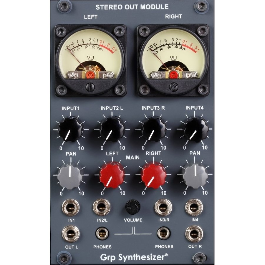 Grp Synthesizer Stereo Out Module