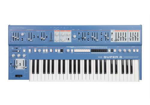 UDO Audio Super 6 Polysynth (blue) (PRE-ORDER)