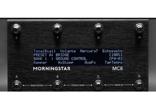 Morningstar Engineering - MC8 Midi Controller