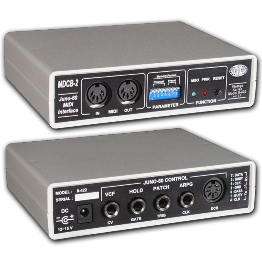 CHD MDCB-2v2 : MIDI / Juno-60 Interface (external)