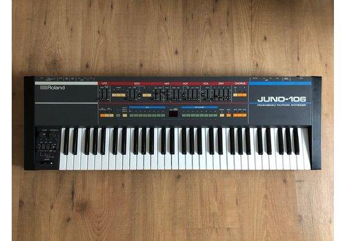 Roland Juno 106 + original Flightcase