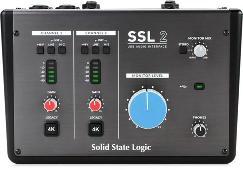 Solid State Logic SSL 2 Audio Interface