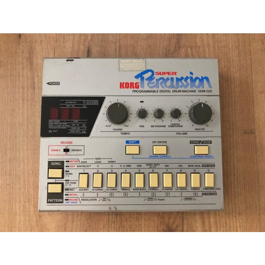 Korg Super Percussion DDM-220