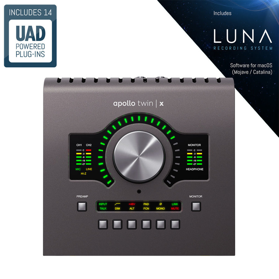 Universal Audio Apollo Twin X Duo Heritage Ed.