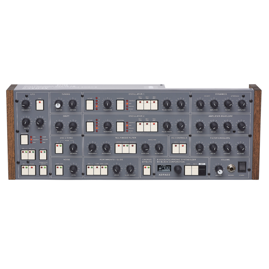 Black Corporation XERXES polyphonic synthesizer