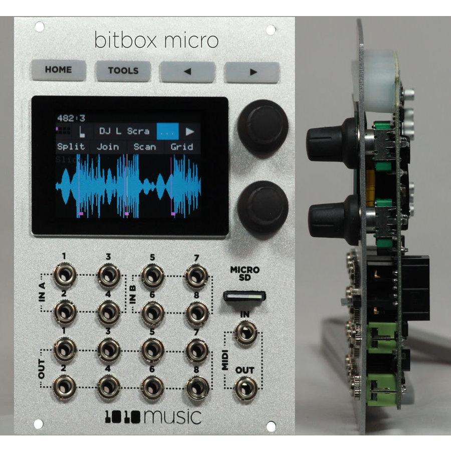 1010Music Bitbox micro - 18 HP Compact Sampling Module