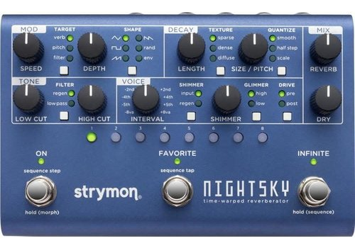 Strymon Nightsky - Time-Warped Reverberator
