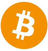 Bitcoin sticker set rond