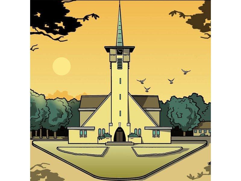 Klok Naaldkerk dag Santpoort Eric J. Coolen