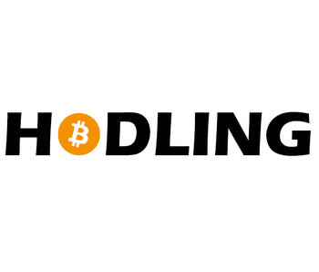 HODLING sticker